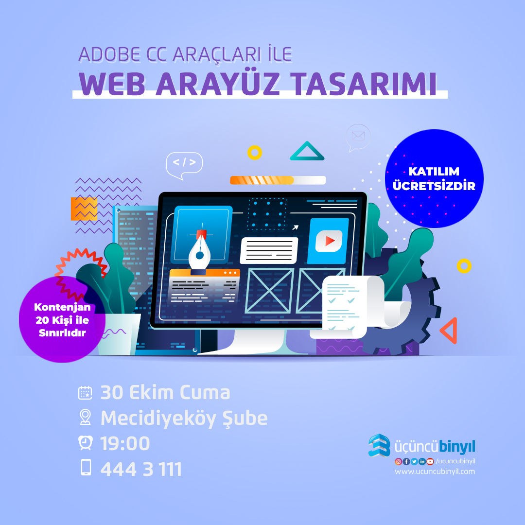ADOBE CC ILE WEB ARAYUZ