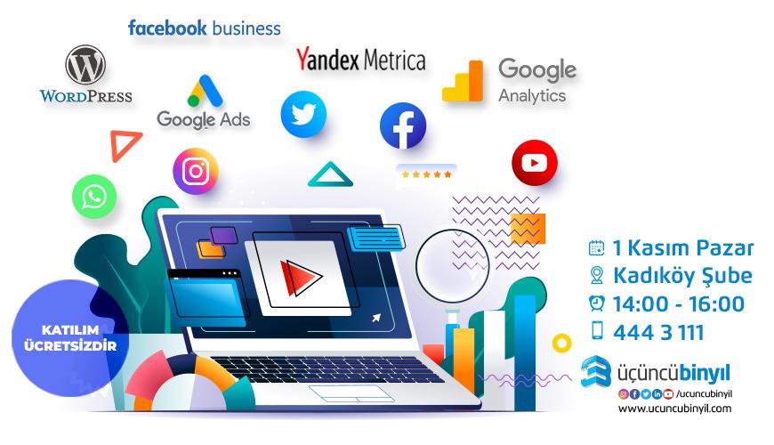 dijital pazarlama&sosyal medya semineri