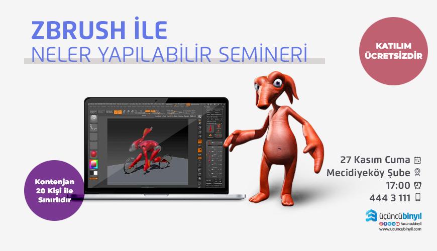 z brush SEMİNERİ